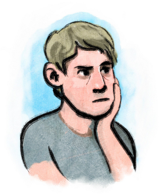 Noodling around with some brush/wash combos in Photoshop.
