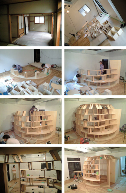 bookshelf/bookcase room! this is so cool.