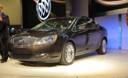 LIVE from Detroit: Befitting Buick's image, the 2012 Verano—a mechanical cousin of the new Chevrolet Cruze, which means it's a notch smaller than the Regal—will be quiet and luxurious.