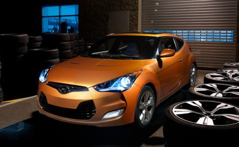 With the Veloster coupe just unveiled at Detroit, Hyundai is clearly targeting a younger audience that places a big emphasis on  bold styling, good fuel efficiency and excellent connectivity.