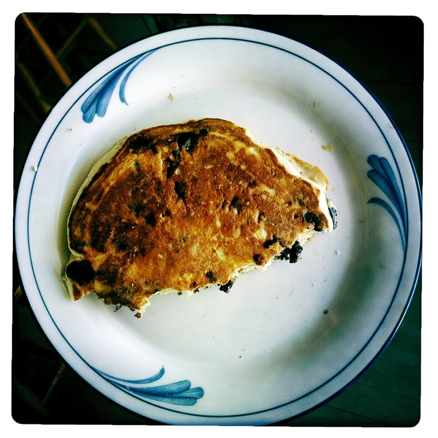 Chocolate chip pancake =)