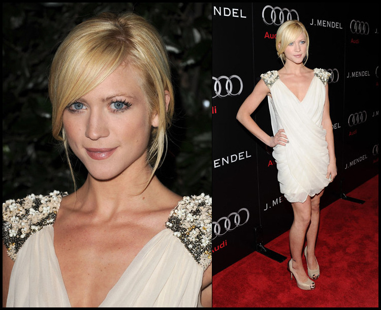 brittany snow | audi and j. mendel celebrate the kickoff of golden globe week 2011 | los angeles via