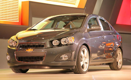 In a unique twist, the ride and handling characteristics of the 2012 Chevrolet Sonic were tuned by Corvette engineers. We suspect this means the Sonic will handle very well.