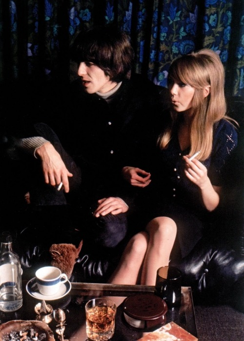george harrison and pattie boyd.