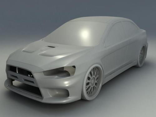Here is an update of where my Lancer Evo X is at. Almost there!