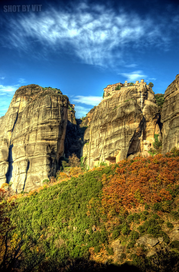 | ♕ |  Varlaam Monastey - Meteora, Greece  | by piddling | via shogunpassion