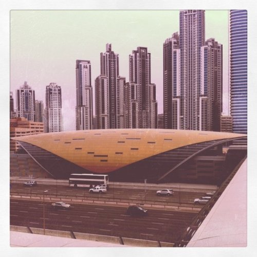 The Dubai Metro (Space shuttle?) (Taken with instagram)