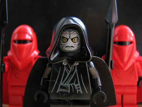 Emperor Flanked by Guards (by Shauna Kosoris)