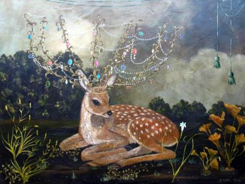 Anne Siems: Crowned Fawn