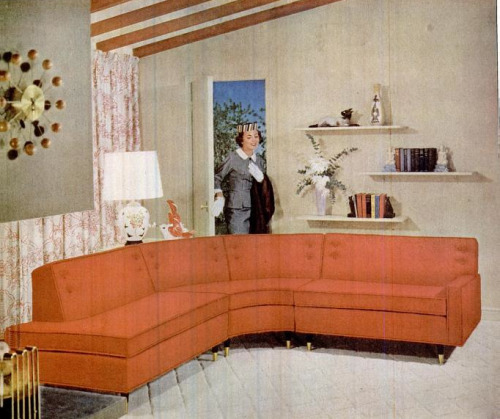 yehyehgrace:  1956 Kroehler Furniture Advertisement