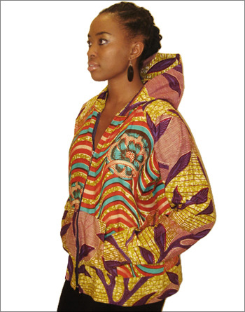 "Ankara Hoodies by Ifenkili I like! Makes me wonder what next we will be seeing ""ANKARALIZED"" :D"