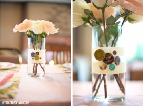 A cute DIY centerpiece.