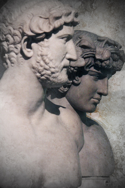 oneimaginarygirl-deactivated201:  Hadrian and Antinous