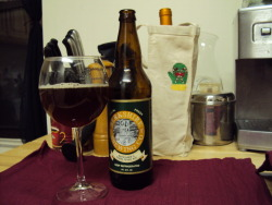 This is my favorite winter beer, Berkshire Brewing Company's (BBC) Cabin Fever. An opportunity to try this should not be missed, particularly in this weather.