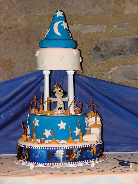 Disney cake (by julie.provost)