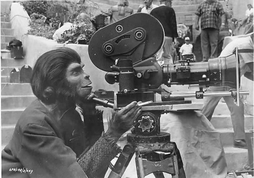 behind the cameras | the planet of the apes