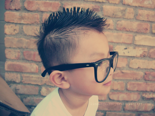 SwaggMonsta - Love His Mohawk .<br />Click here to follow an amazing blog