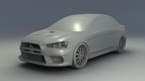 Here is an update of what I have done so far today. The front of the car is pretty much complete, now I work my way back starting with the side mirrors.