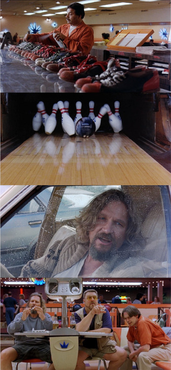 moviesinframes:  The Big Lebowski, 1998  (dir. Joel & Ethan Coen) By ponyfind