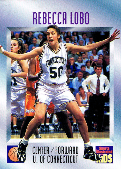 Rebecca Lobo - Reebok Kamikaze 1 This awesome find was compliments of @CardboardGerald