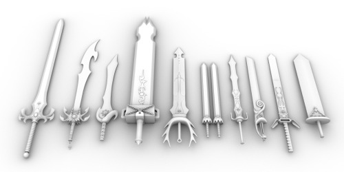 Lost your drill, Simon?, nyebe: RAVE MASTER 10 Swords Omg look at ...