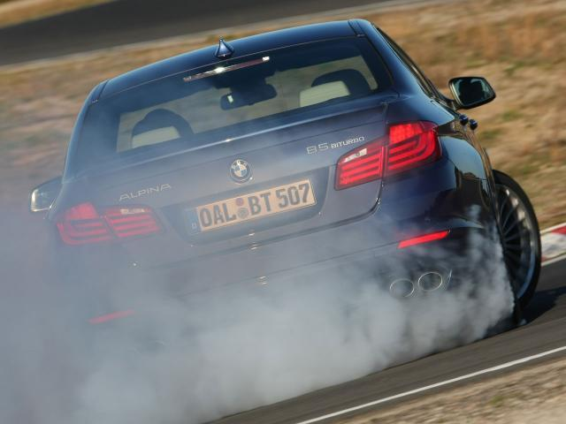 Alpina B5 Biturbo by Teamspeed.com [Smoke Machine]