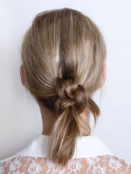 via Everything Fabulous: Hair Inspiration: Double Knot Hair ~ How To