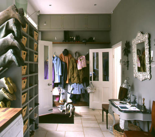 photo: Coat room idea