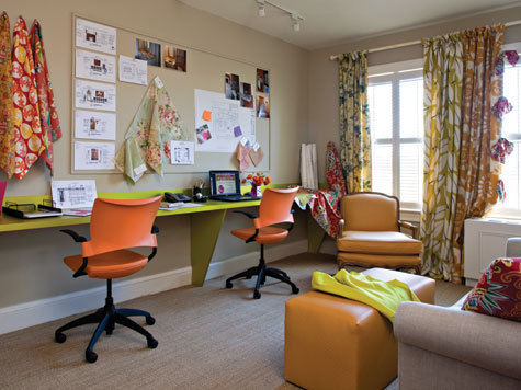 photo: Kids study room idea