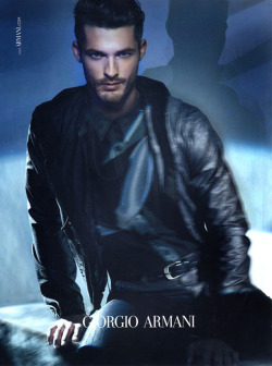 druisfashion:  Ben Hill for Giorgio Armani's Spring/Summer 2011 Ad Campaign :D