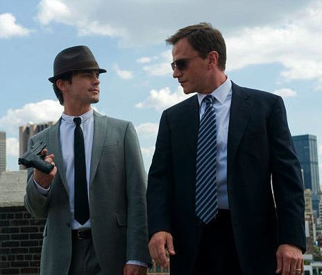 Neal Caffrey and Peter Burke They'll try to deny it. But this ex-con and FBI hero have a lot more, well, chemistry than they think. Sure, they spend the first several episodes of the series bickering like mad, but by the current season, they're so worried about each other's well being that you can't help but see the epic bromance building up.