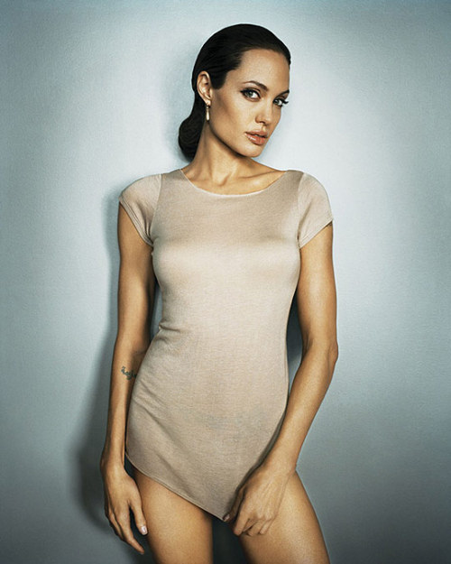 ANGELINA JOLIE by MARC HOM