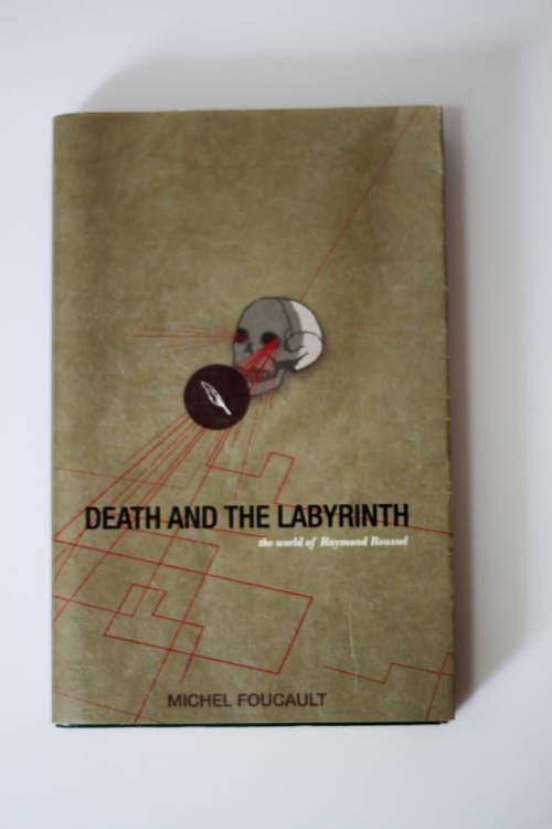 illustrated book cover - Michel Foucault's Death and the Labyrinth (VIS230/illustration for designers)