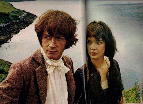 "John Hurt in ""Seventeen"" magazine 1968. From the JohnHurt.co.uk collection."