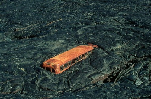 Last bus standing, could this be mars ?
