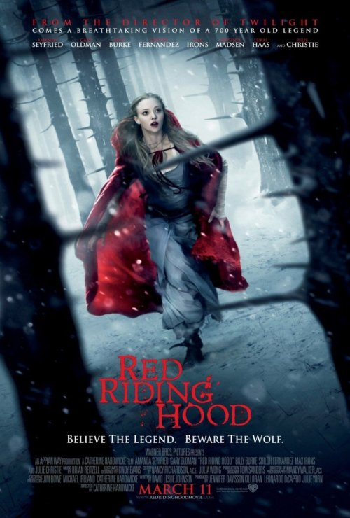 ReBlog ~ fuckyeahmovieposters:Red Riding Hood