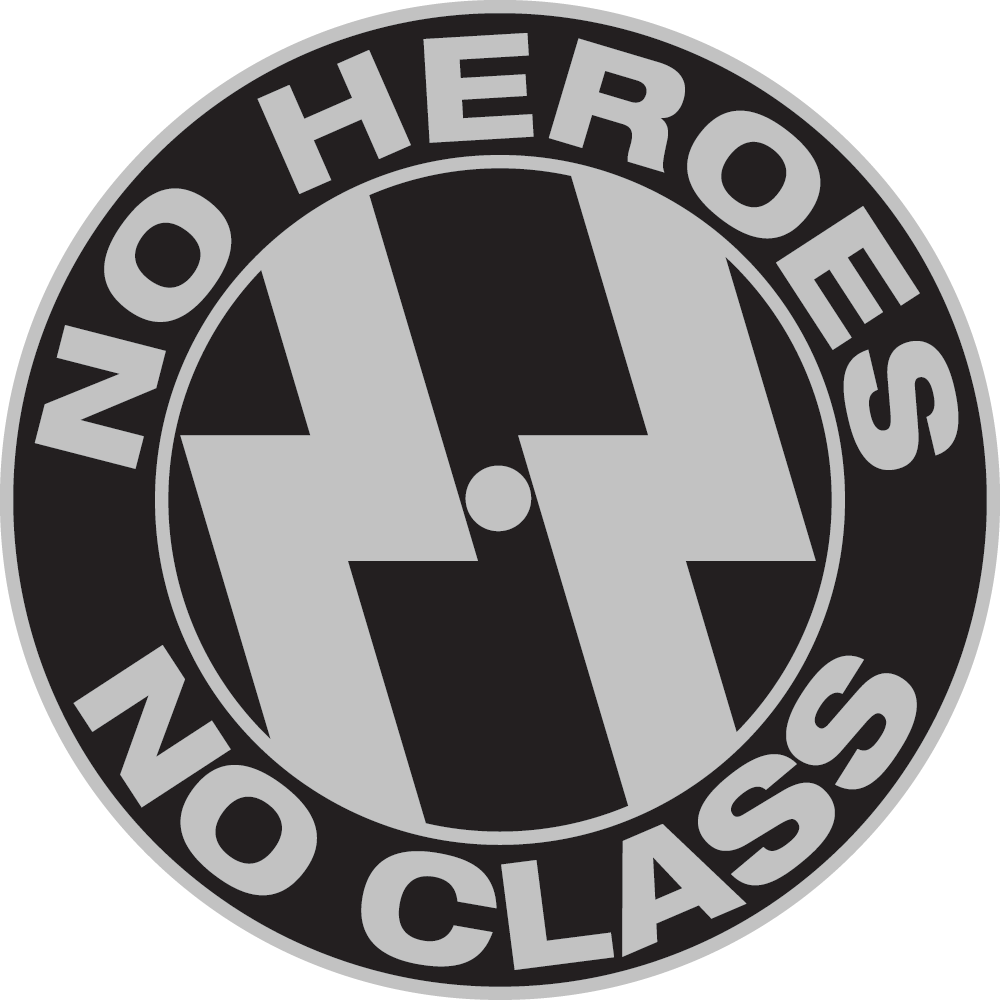 No Heroes Air Cleaner Cover. Cover, Powder Coating, Polishing and Shipping: $75