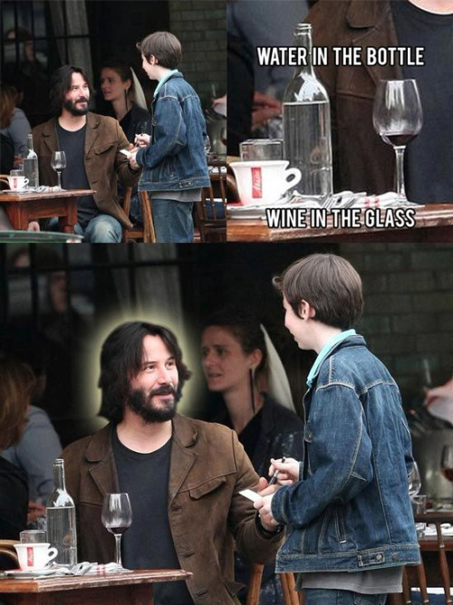 Keanu saves