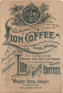 Vintage Lion Coffee Ad (by thegraphicaddict)
