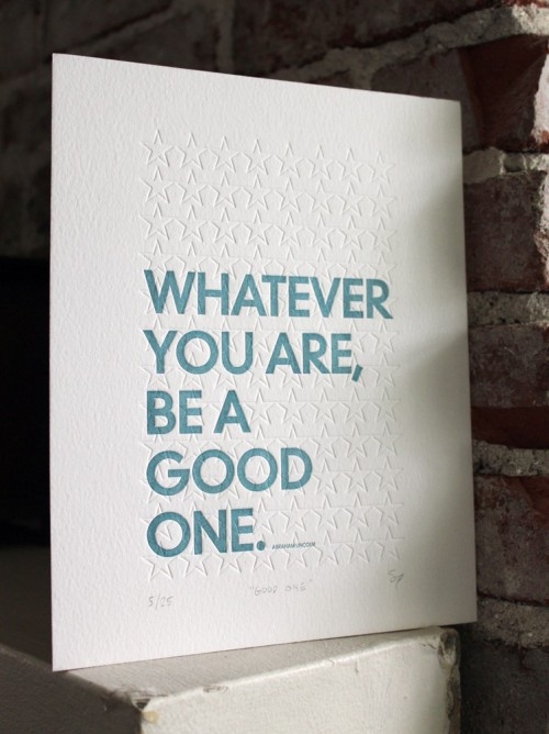 Lovely Quote, Lovely Print.