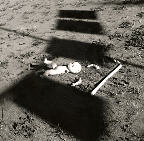 Silver Print by Stanko Abadzic - Doll without Arms.