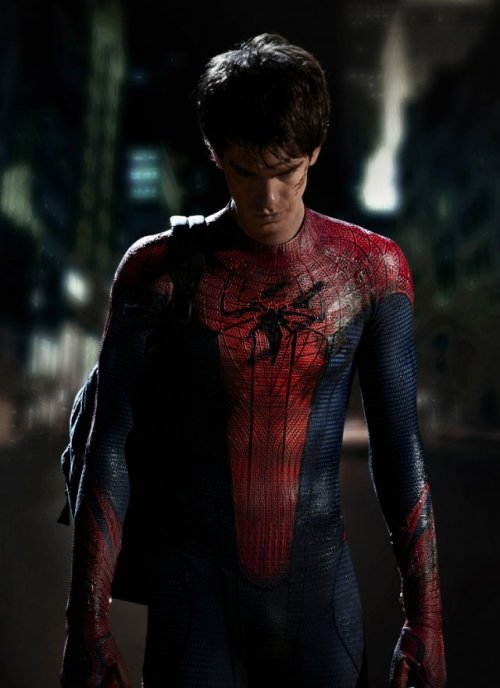 Columbia Pictures Releases First Image of Andrew Garfield as Spider Man | IMDb via thekidisallright