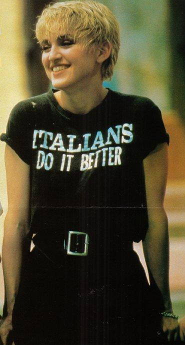 Like Madonna said. She always rigth.