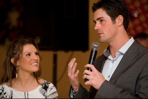 Cole & Heidi Hamels Diamond in the Rough 2010 event by The Hamels Foundation