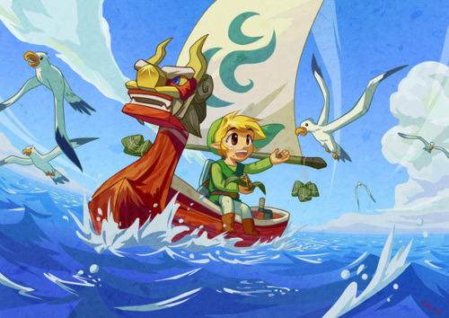 Wind Waker will always hold a special place in my heart.