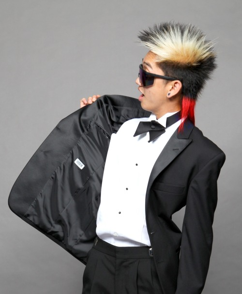 "fuckyeahdumboporeotics:  Matthew ""Dumbo"" Nguyen, founding member of Poreotics, was born March 25, 1989. He attended Rancho Alamitos High School, where he graduated in 2008. At the age of 16, ironically after watching the street-dancing flick, You Got Served, his inspiration to dance began.  After observing different styles of hip-hop, Dumbo found he wanted to create his own style, something that he'd never seen before. Though his favorites styles included popping, freestyling and choreography, he had never seen these styles put together, so he came up with a ""funk style in choreography with a robotic feel,"" which soon became the stamp of Poreotics. While in high school, Dumbo enjoyed experimenting with hair, which led him to apply at Paul Mitchell School in Costa Mesa, where he is still currently attending.  His trademark nickname comes from his awkward talent of moving his ears back and forth, rather impressively, without hesitation. In his spare time, Dumbo enjoys playing volleyball, fishing, and working on his car."