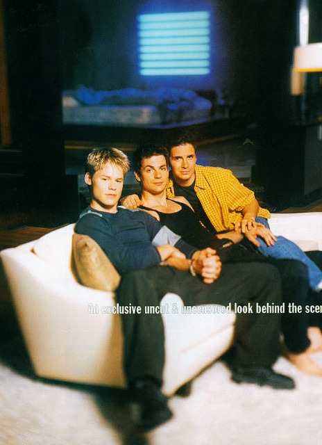 #gale harold #hal sparks #queer as folk #randy harrison #♥ #mine: 4 #tv: ...