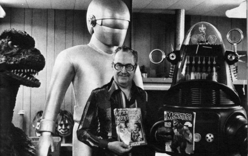 Forrest J Ackerman in Don Post Studios