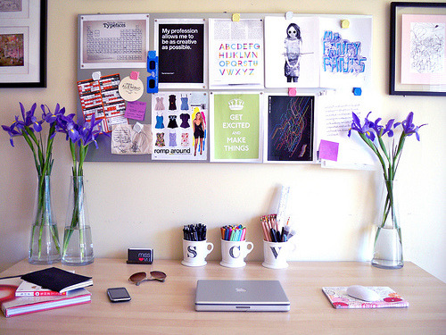 I WISH my desk space could look like this