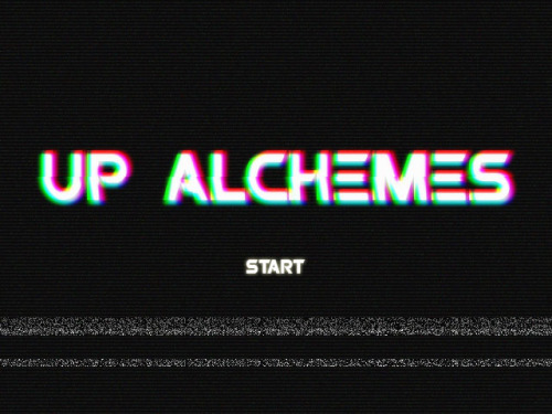 Enter the World of UP ALCHEMES. Press START now. Lolz. In an attempt to refresh my photoshop skills, I stumbled upon an online tutorial showing how to create a VHS style image. And I shouldn't be doing this right now and just be studying ES13 instead, but what the hell. I'm on a roll.